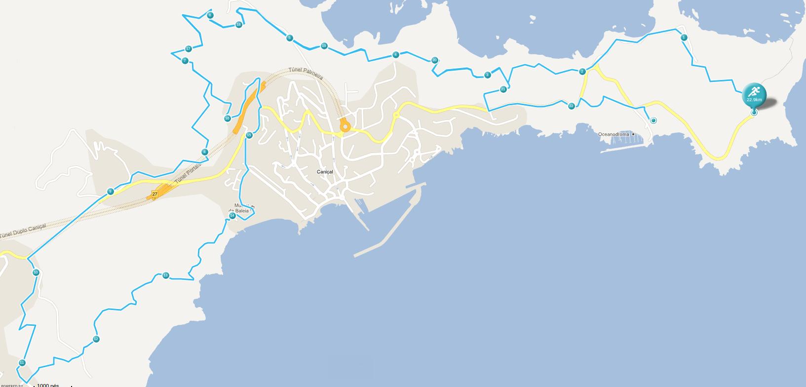 mapa canical