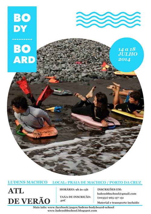 Cartaz ATL Bodyboard Verão